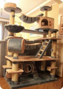 Juguetes para gatos árbol grande